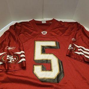 4e8b7532ac8 Reebok Other - Jeff Garcia San Francisco 49ers REEBOK JERSEY XL